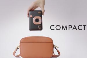 即拍即印還能錄下聲音!Fujifilm 推出全新 Instax Mini LiPlay 立可拍數位相機
