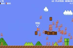 75 名玩家搶一顆香菇 !粉絲自製「吃雞版瑪利歐」爆紅