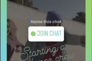 Instagram 能「群聊」囉!發限時動態就能開聊天室