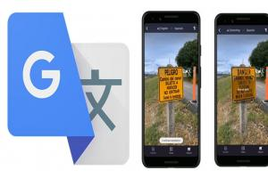 Google 翻譯行動版 4大升級!用手機鏡頭對準「即時翻譯」更實用了