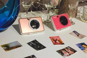 超輕巧自拍神器登場!Canon 推出首款 iNSPic 拍可印相機