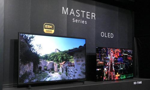 挑戰夏普、三星!Sony 8K 旗艦電視登台參戰
