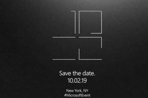 微軟 Surface 發表會定檔!兩款「神秘新品」有機會露臉?