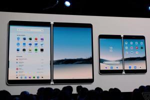 微軟震撼發表 Android 系統「摺疊」手機!「雙螢幕」科幻筆電也亮相