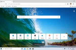 微軟 Edge 瀏覽器最新測試版釋出!一鍵啟動「笑臉」快捷按鈕