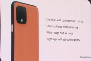 預約最強拍照手機!Google 新旗艦 Pixel 4 挾 4 大升級登場