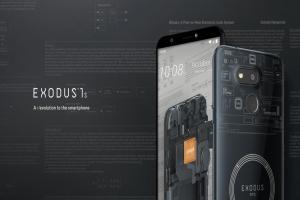 HTC 發表區塊鏈新機!EXODUS 1s用虛擬貨幣就能買