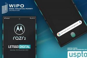 摺疊手機的更多可能!傳摩托羅拉申請 RAZR 2 新專利