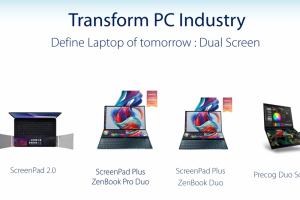 華碩明年 ZenFone 動向曝光!科幻「雙螢幕」筆電也有望亮相