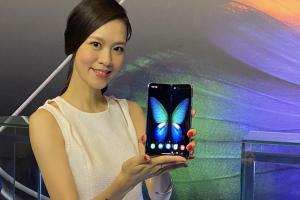 (影音)三星摺疊機 Galaxy Fold 在台上市!定價 68,888 元挑戰手機行情