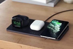 果粉期待的AirPower復活了?配件商推出 iPhone「三合一」無線充電板