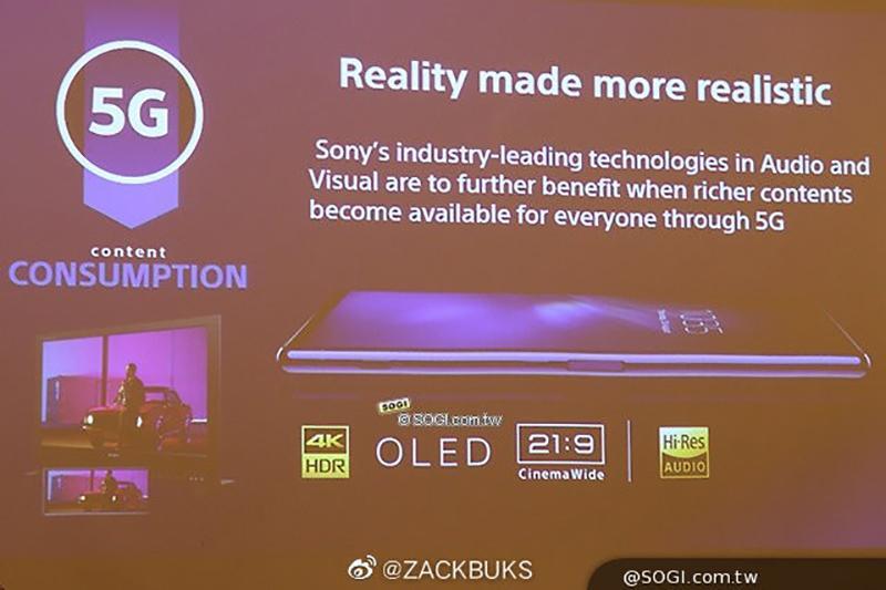 首款 5G 旗艦打頭陣!Sony 傳即將發表 3 款 Xperia 新機