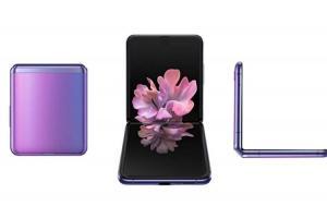 三星摺疊新機 Galaxy Z Flip 渲染圖再曝光!外媒揭 2大亮點