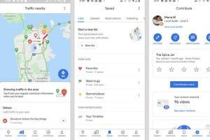 Google 地圖 15 週年換新裝,主畫面功能也大改版!