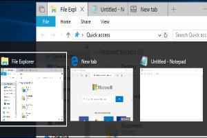 Windows 10 快捷鍵「Alt + Tab」將添新功能!可顯示瀏覽器多個分頁