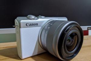 單眼規格、休閒玩法!Canon 微單眼 EOS M200 使用體驗