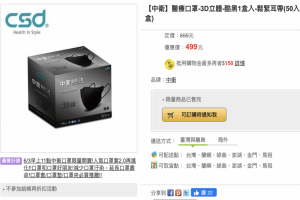 網購平台開賣口罩全面大當機!網轟:只有機器人買得到吧