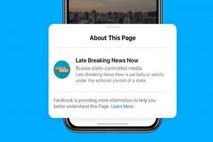 央視、新華社都逃不了!臉書新政策自動註記「中國官媒」