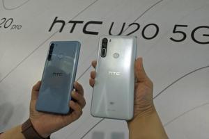 宏達電首款5G手機售價不到2萬!HTC U20 搭6.8吋超大螢幕、5千大電量