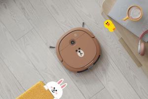 科沃斯攜手 LINE 推出熊大掃地機器人!還會自己畫地圖