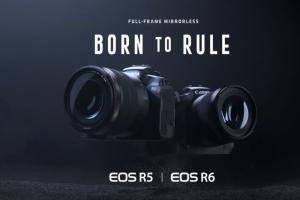 Canon 無反大軍襲來!機皇 EOS R5 問世、同場發表 6 顆 RF 鏡頭