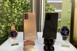 (影音)三星旗艦機 Galaxy Note 20 正式登場!5 款新品發表會同步亮相