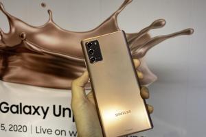 三星 Galaxy Note 20 台灣售價曝光?估台幣 35,900 元、8 月底上市