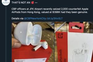 中國品牌耳機遭美國海關查扣!因為太像山寨 AirPods