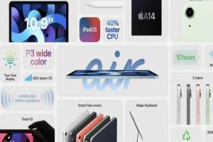 蘋果秋季發表會「史上最短」!網友點名新 iPad Air 最驚豔