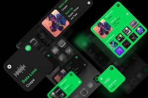 想在 iOS 14 頁面放上 Spotify 小工具?透過這款 App 就能辦到