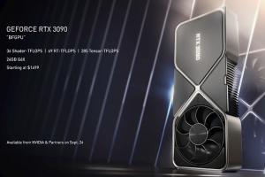 NVIDIA 新旗艦卡皇GeForce RTX 3090有多威? 外媒實測跑分出爐