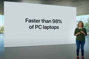 蘋果 Mac「M1」處理器 + 無風扇效能贏過 98% 筆電?外媒質疑喊「不可能」