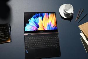 OLED 螢幕、4 種變化!華碩 ZenBook Flip S 翻轉筆電登台
