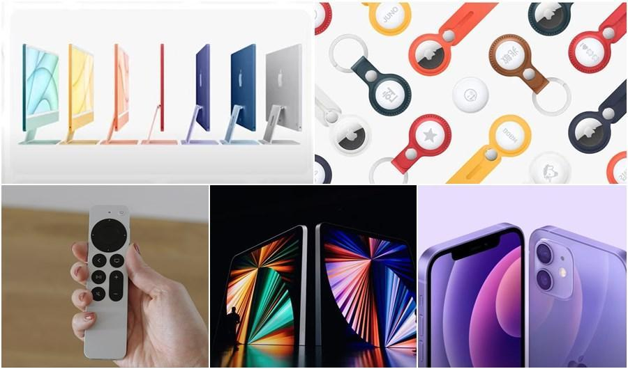 (影音)蘋果春季發表會5大新品登場!首搭5G上網iPad Pro、大改版七色iMac來了