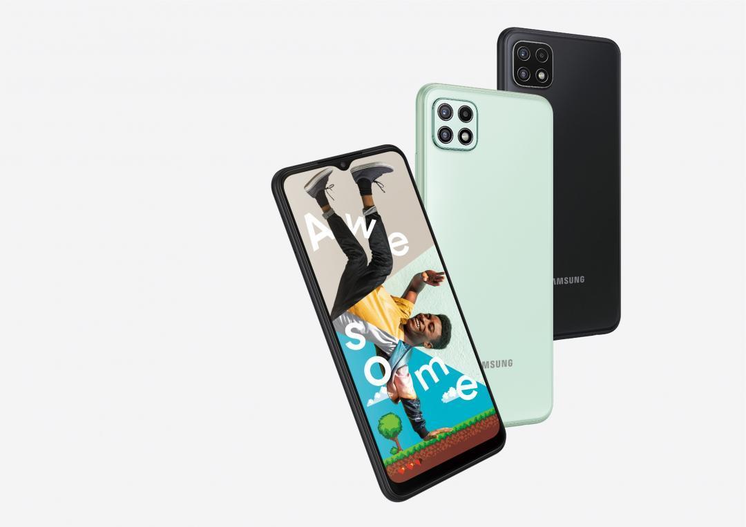 三星推出新款 5G 平價機!Galaxy A22 定價七千有找