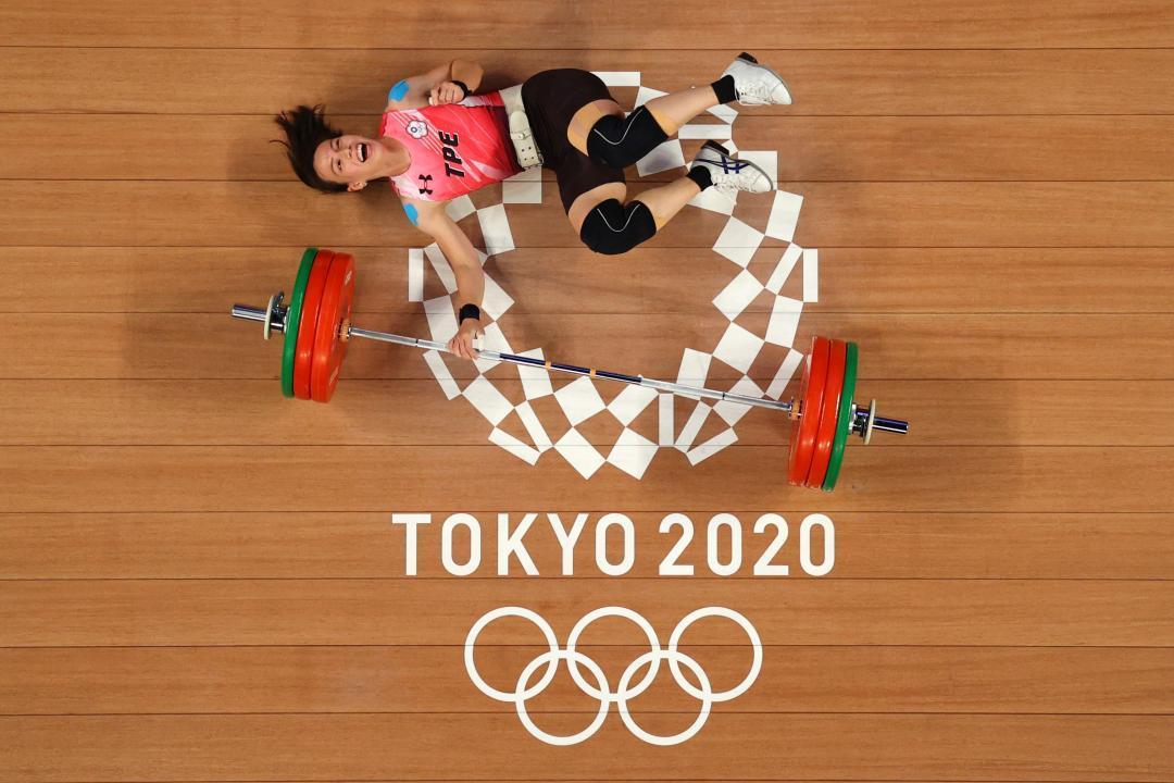 台灣隊「東京奧運」經典畫面!但郭婞淳這張照片是怎麼拍出來的?