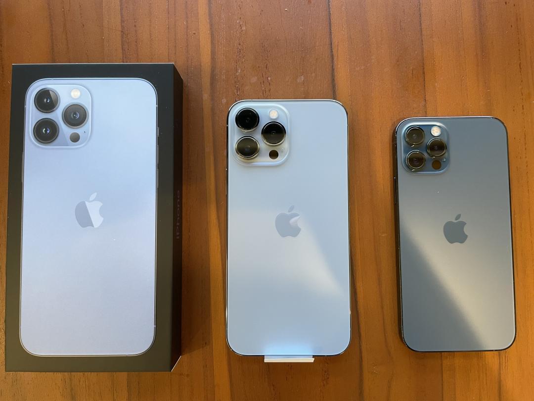 史上最重 iPhone 13 Pro Max 竟比iPhone 13 Pro 還耐摔!跌落實測比一比
