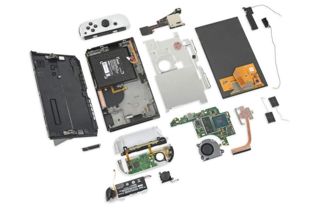 任天堂 Switch OLED 版本拆解報告出爐!維修難度增加了