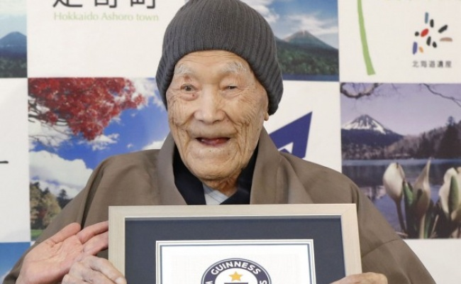 113歲世界最長壽男性 睡夢中安詳離世