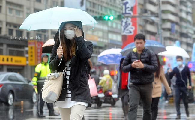 東北季風增強 北台灣天氣轉濕涼