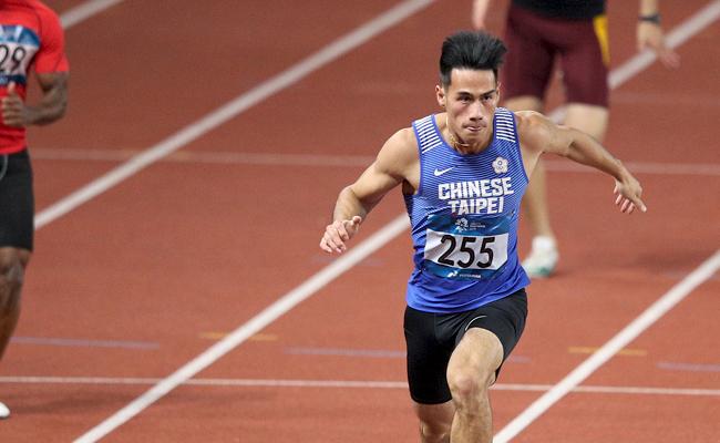 台灣最速男楊俊瀚 美國室內賽摘雙金