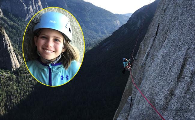 史上最年輕!美國10歲女童攻頂酋長岩