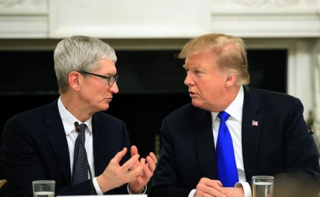 又會庫克 川普:蘋果將砸大錢投資美國