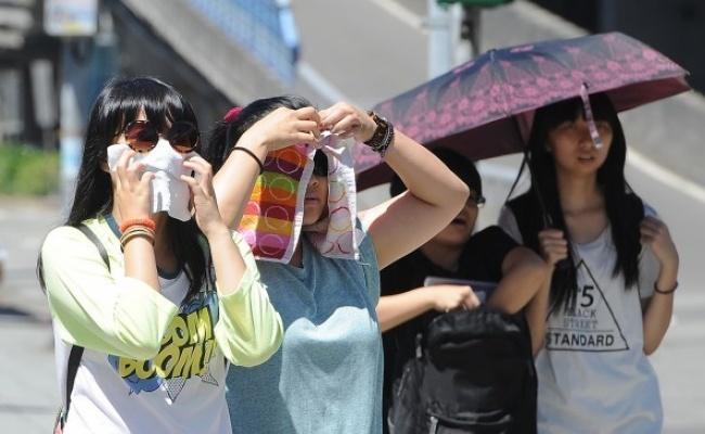各地炎熱高溫 中南部持續大雨