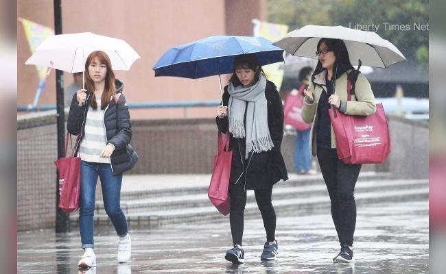 週三北台灣下探21度 濕涼有雨到週末