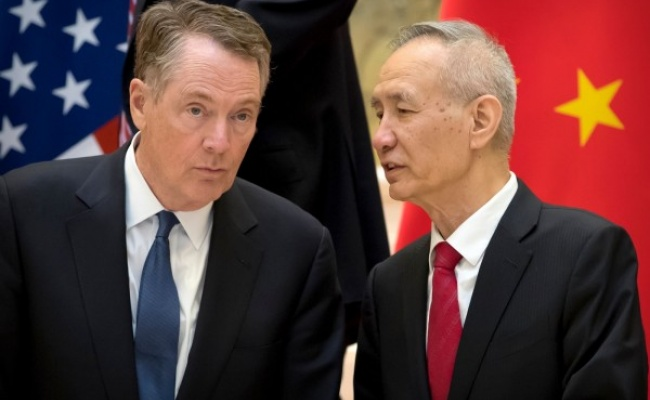 劉鶴傳邀美赴北京進行新一輪貿易談判