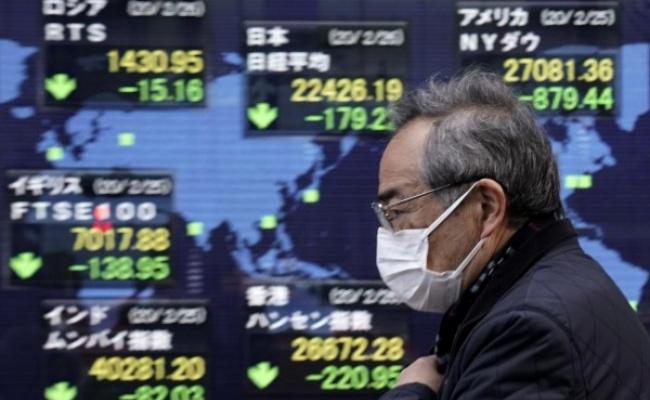 武漢肺炎》全球股市市值本週蒸發90兆