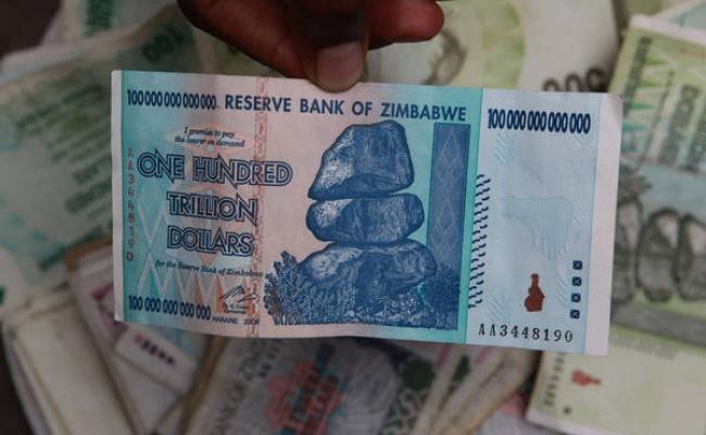 辛巴威印鈔還債 100兆只能買3顆蛋