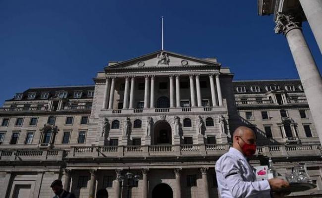 英國經濟承壓 英央行委員支持負利率