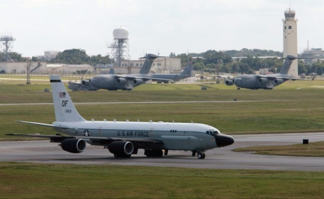 北韓試射後 美軍機連兩天飛南韓偵察